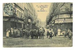 CPA 75 PARIS LA RUE DAGUERRE PRISE DE LA RUE GASSENDI - Other