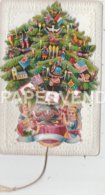 Greeting Card  Christmas Tree Mechanical Egc739 - Old Paper