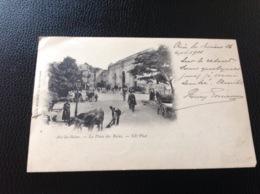 Aix Les Bains La Place - Cartes Postales