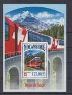 K679. Mozambique - MNH - 2013 - Transport - Trains - Benina Expresso - Bl - Trains