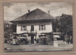 CPSM 73 - LESCHERAINES - La Madeleine - Hôtel BURNET - TB PLAN Devanture Façade Etablissement - Frankreich