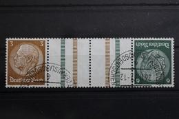Deutsches Reich Zd KZ27.1 Gestempelt Zusammendrucke #RL990 - Zusammendrucke