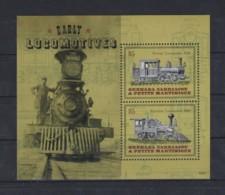 T677. Grenada - MNH - Transport - Trains - Trains