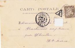 CP - BOURGES - Grand Portail De La Cathédrale - Le Jugement Dernier - Taxée 10 Centimes - Segnatasse