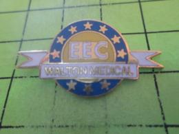 512e PINS PIN'S / Beau Et Rare : Thème MEDICAL / EEC WALTON MEDICAL - Médical