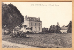 CPA Vimarce, Chateau Du Gasseau, Ungel. - Frankrijk