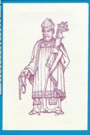 Holycard   St. Amatus   Oostvleteren - Devotion Images