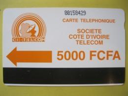 Telecarte De Cote D'ivoire - Ivoorkust