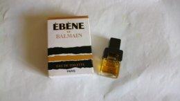 """Miniature De Parfum Balmain """" Ebène """" Eau De Toilette - Miniaturen Flesjes Heer (met Doos)"""