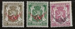 Belgique 1936-1938 N° Y&T :   TS 20 à 22 * - Dienstpost