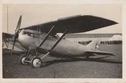 C22- CARTE PHOTO  - AVION  SUISSE  DEWOITINE D1 C1 - N° 112 -  (2 SCANS) - 1919-1938