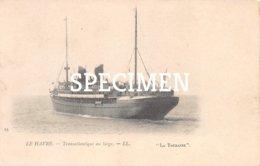 Le Havre -  Transatlantique Au Large  La Touraine - Dampfer