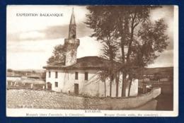 Serbie.  Kavadar (Rekovac). Mosquée Et Cimetière. Expédition Balkanique. 1917 - Serbie