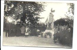 FLORNOY - CARTE PHOTO - INAUGURATION Du Monument Aux Morts - Autres Communes