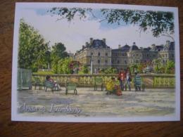 CPM Jardin Du Luxembourg - Parchi, Giardini
