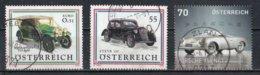 Autriche : Timbres Yvert & Tellier N° 2224 - 2441 Et 2881 Avec Oblit. Rondes. - 1945-.... 2ème République