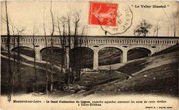 CPA MONISTROL-sur-LOIRE - Le Canal D'adduction Du LIGNON Superbe (517280) - Monistrol Sur Loire