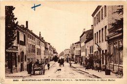 CPA MONISTROL-sur-LOIRE (Hte-Loire) Alt 603 M - Le Grand Chemin Et (517330) - Monistrol Sur Loire