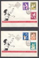 Bulgaria 1965 -Bulgarian Youth Organization, Mi-Nr. 1577/82, FDC - FDC