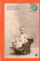 Bébé Dans Un Panier - 1906 - - Babies