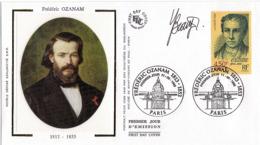 FDC 1er Jour : Frédéric Ozanam 11/09/1999 N° 3281 Signé Yves BEAUJARD - FDC