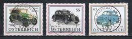 Autriche : Timbres Yvert & Tellier N° 2224 - 2441 Et 2744 Avec Oblit. Rondes. - 1945-.... 2ème République