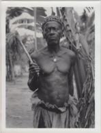 28744g CONGO BELGE - LIBENGE-GEMENA - NOTABLE BWAKA - Photo De Presse - Ethnographique - H. Goldstein - 24x18c - Afrika