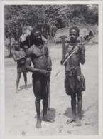 28745g CONGO BELGE - LAC LEOPOLD II - POPULATION EKONDA - Photo De Presse - Ethnographique - 24x18c - Seins Nus - Afrique