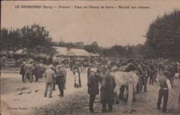 Le Neubourg Prieuré Place Du Champ De Foire Marché Aux Chevaux - Le Neubourg