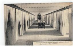 Borgloon  Looz-la-Ville : Pensionnat Et Ecole Normale Des Soeurs De Charité  Un Dortoir - Ein Schlafsaal 1911 - Borgloon
