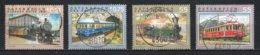 Autriche : Timbres Yvert & Tellier N° 2225 - 2257 - 2321 - 2381 - 2435 - 2490 - 2503 Et 2584 Avec Oblit. Rondes. - 1945-.... 2ème République