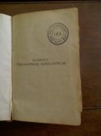 Oud Boek 1911 ELEMENTA PHILOSOPHIAE  SCHOLASTICAE  Vooraan SEM.-- Phil . St BONAVENTURE -  ALOSTI - Livres, BD, Revues