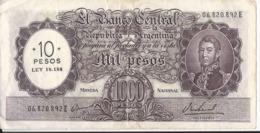 Argentina - 10 Pesos Su 1000  - P.284 - Argentina