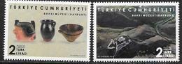 TURKEY, 2019, MNH, MUSEUMS, BAKSI MUSEUM, MOUNTAINS, 2v - Museums