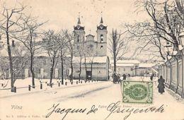 VILNIUS - Eglise Des Bons Frères - Publ. A. Fialko 8. - Lithuania