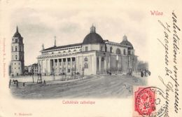 VILNIUS - Catholic Cathedral - Publ. V. Makowski - Granbergs - Lithuania