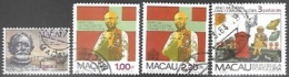 Macau  1981-3   Sc#449, 455-6, 470  Used   2016 Scott Value $5.90 - Macao