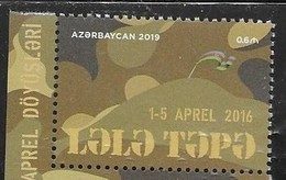 AZERBAIJAN, 2019, MNH, 3rd ANNIVERSARY OF APRIL WAR, WAR WITH ARMENIA, MILITARY, 1v - History