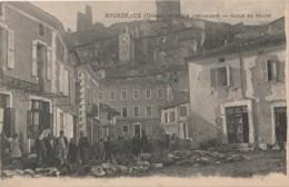 D19-26) BOURDEAUX (DROME) PLACE DE LA CHEVALERIE - ECOLE DES FILLES - (OBLITERATION DE 1906 - 2 SCANS) - France