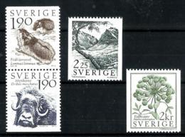Suecia Nº 1256/59 En Nuevo - Suecia