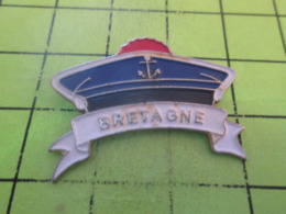 512c PINS PIN'S / Beau Et Rare : Thème BATEAUX / BERET DE MARIN DE LA MARINE NATIONALE - Boten