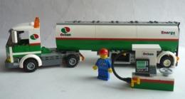 FIGURINE LEGO CITY 3180 CAMION SEMI REMORQUE CITERNE - Poppetjes