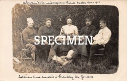 Carte Photo Militaire 1914-18 De Tremblay - Tremblay En France