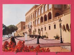Principauté De Monaco - Le Palais Princier - Très Bon état - Scans Recto Verso - Palais Princier