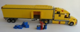 FIGURINE LEGO CITY 3221 CAMION SEMI REMORQUE LEGO - Figurines