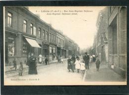 CPA - LIEVIN - Rue Jean Baptiste Defernez, Très Animé - Lievin