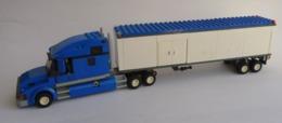 FIGURINE LEGO CITY 7848 CAMION SEMI REMORQUE TOYS R US - Poppetjes