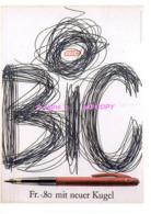 Ref 355 :  CPM Publicité Crayon Bic Rudi Killing 1996 - Publicité