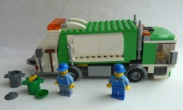 FIGURINE LEGO CITY 4432 CAMION POUBELLE - Poppetjes