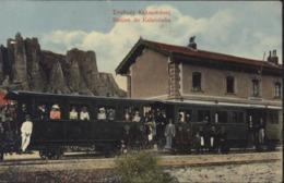CPA Grèce Station De Kalambaka - Greece